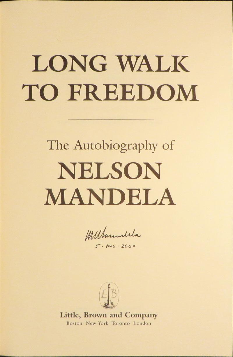 LONG WALK TO FREEDOM Mandela Nelson Hardcover