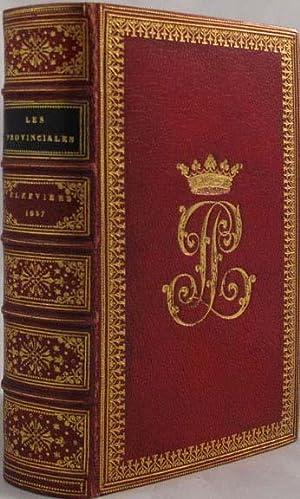 PROVINCIALS ou les Lettres Escrites par Louis De Montalte, a un Provincial de Ses Amis & aux RR...