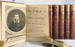 WORKS OF BEN JONSON. With a Biographical Memoir by William Gifford: Jonson Ben