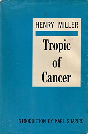 TROPIC OF CANCER: Miller Henry
