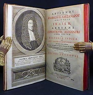 EXPEDITIONIS ALEXANDRI LIBRI SEPTEM ET HISTORIA INDICA.: Arrianus, Flavius; Arriani