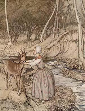 LITTLE BROTHER & LITTLE SISTER And Other Tales by the Brothers Grimm: Rackham illus.] The ...