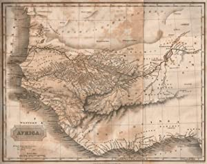 HISTORICAL ACCOUNT OF DISCOVERIES AND TRAVELS IN AFRICA, BY THE LATE JOHN LEYDEN, M.D. Enlarged and...