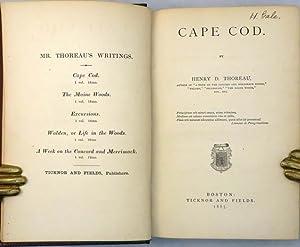 CAPE COD: Thoreau Henry David