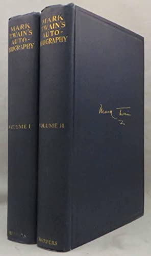 MARK TWAIN'S AUTOBIOGRAPHY, With an Introduction by Albert Bigelow Paine: Twain Mark