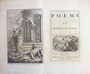 POEMS ON SEVERAL OCCASIONS: Prior Matthew