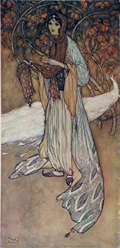 STORIES FROM THE ARABIAN NIGHTS, Retold by Laurence Housman: Housman [Dulac illus.] Laurence