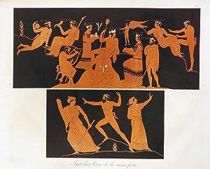 FIGURES D'UN VASE DE LA MEME FORME [An Original Colour Aquatint Plate From] Collection Des ...