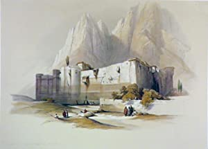 Convent of St. Catherine, Mt. Sinai [An: Roberts David; [Egypt]