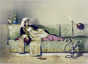 "Egyptian Woman in a Harem in Cairo"" [A single Lithographic Print from ORIENTAL ALBUM, ..."