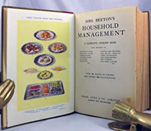 MRS. BEETON'S HOUSEHOLD MANAGEMENT A Complete Cookery Book: Beeton Mrs. [Isabella]