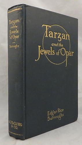 TARZAN AND THE JEWELS OF OPAR: Burroughs Edgar Rice