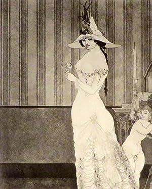 SIX DRAWINGS Illustrating Théophile Gautiers Romance Mademoiselle de Maupin: Beardsley ...
