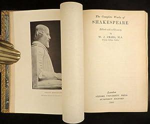 COMPLETE WORKS OF WILLIAM SHAKESPEARE: Shakespeare William; [Craig, W.J.]