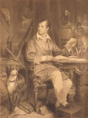 POETICAL WORKS OF LORD BYRON, with Explanatory Notes and a Life of the Author, by Thomas Moore.: ...