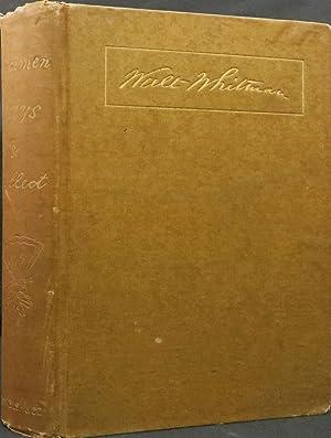 SPECIMEN DAYS & COLLECT.: Whitman Walt