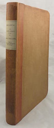 BELGIUM AND WESTERN GERMANY IN 1833.: Trollope, Mrs. Frances