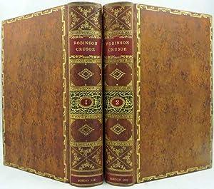 LIFE AND ADVENTURES OF ROBINSON CRUSOE, Of: Defoe Daniel