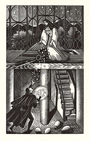 FOUR WOOD ENGRAVINGS MADE BY ERIC RAVILIOUS: Fleece Press; Wood