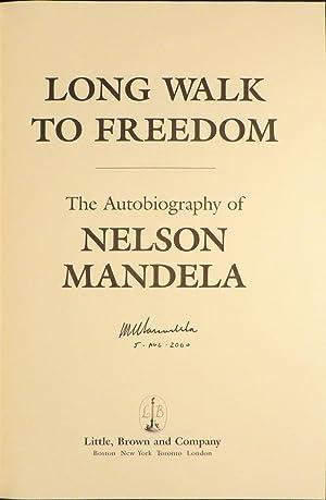 LONG WALK TO FREEDOM: Mandela Nelson