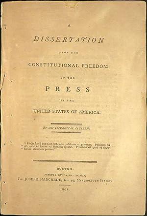 Constitutional union party dissertation