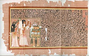 BOOK OF THE DEAD] The Papyrus of: Egypt; Budge, E.A
