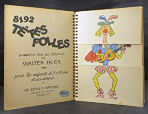 TETES FOLLES.: Flip Activity Book) in French