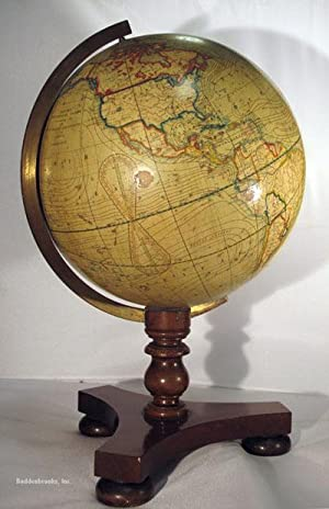 SMITH'S TERRESTRIAL GLOBE, Containing all the Most Recent Discoveries: Globe] Smith Charles