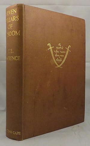 SEVEN PILLARS OF WISDOM: Lawrence T. E