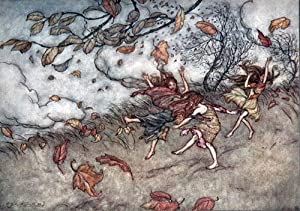 PETER PAN IN KENSINGTON GARDENS: Rackham, illus.] Barrie J. M