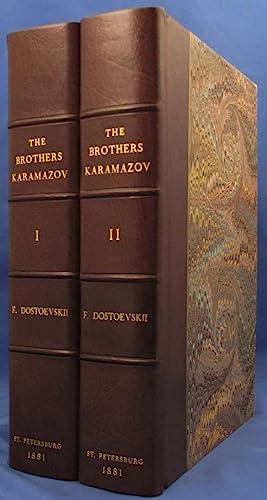 BRAT YA KARAMAZOVY [In Russian, Cyrillic]: Dostoevsky Fyodor