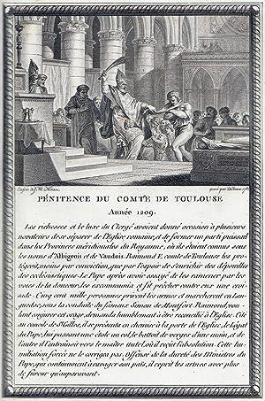 Figures de l' Histoire de France: Moreau le Jeune [Moreau the Younger]; French Engraving and ...