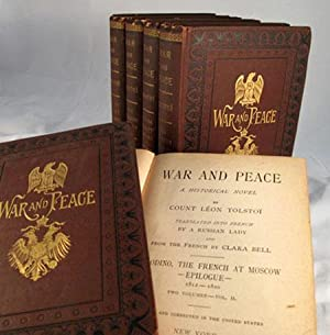 WAR AND PEACE. A Historical Novel.Translated into: Tolstoy] Tolstoi Leo