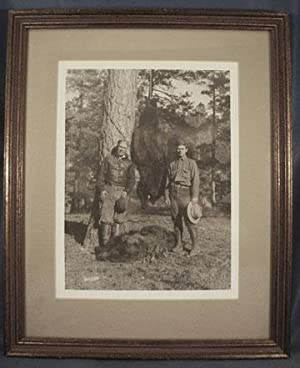 ORIGINAL PHOTOGRAPH OF AUTHOR ZANE GREY And His Brother Romer Grey on a Bear Hunting Trip: Grey ...