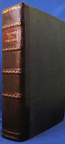 OMNIA DIVINI PLATONIS OPERA TRALATIONE MARSILII FICINI,: Plato