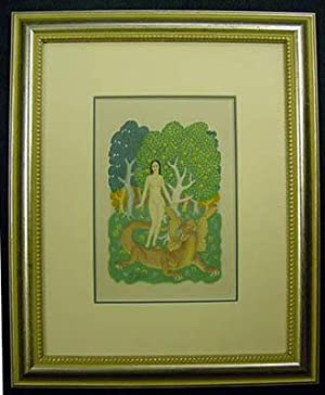 ORIGINAL WATERCOLOUR PAINTING BY THE RENOWNED ARTIST AND ILLUSTRATOR EDMUND DULAC, (Sold together ...