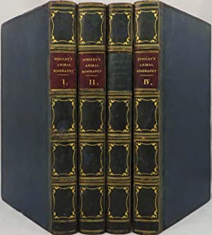 ANIMAL BIOGRAPHY, or, Popular Zoology; illustrated by Authentic Anecdotes of the economy, habits of...