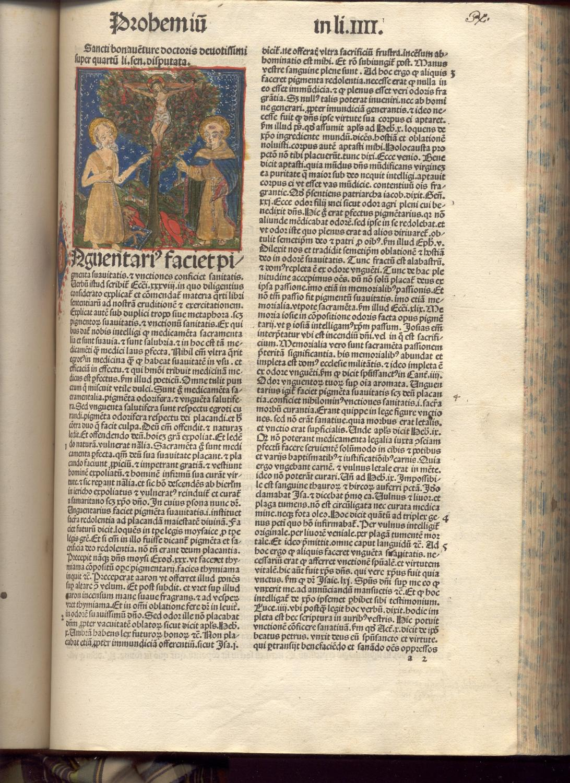 (Sententiarum libri IV). (With Bonaventura's commentary, ed. by. J. Beckenhaub).: PETRUS ...