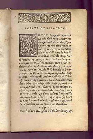 Organon [Greek]: ARISTOTLE