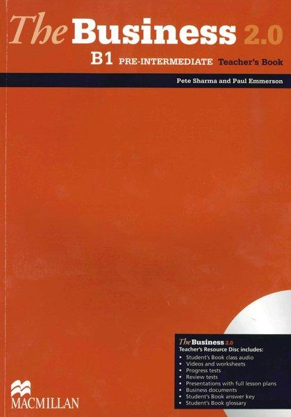 The Business 2.0 / B 1 Pre-intermediate / Teacher's Book with DVD-ROM - Sharma, Pete and Paul Emmerson