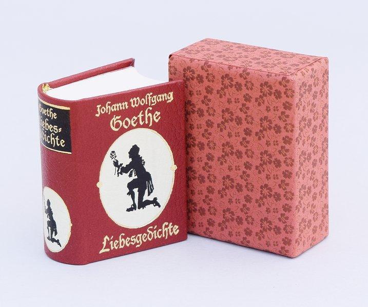 Liebesgedichte Miniaturbuch: Goethe, Johann Wolfgang