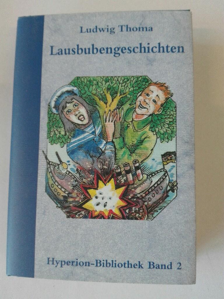 Lausbubengeschichten (Miniaturbuch): Thoma, Ludwig:
