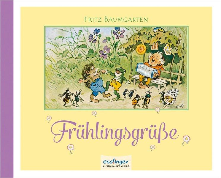 Frühlingsgrüße - von Fallersleben, Hoffmann und Fritz Baumgarten