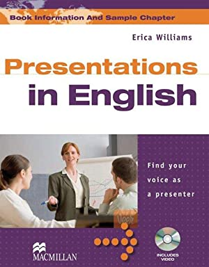 Presentation English. Find your voice as a: Williams, Erica J.