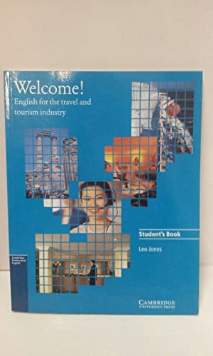 Welcome Students Book English For The Travel And Tourism Industry