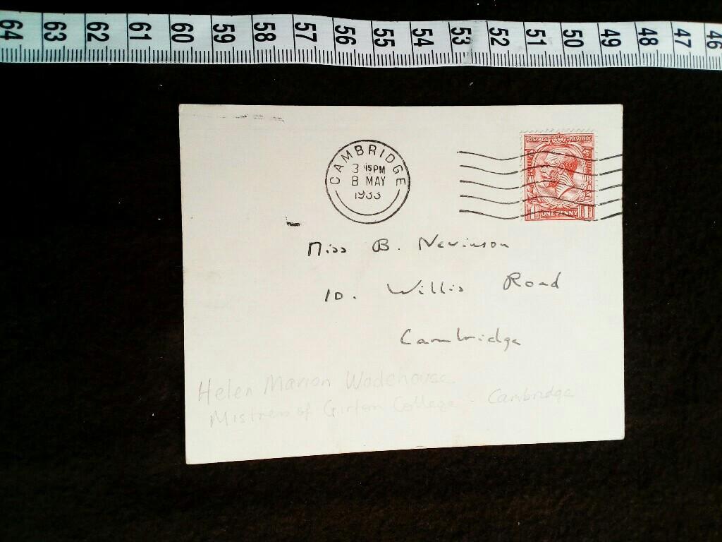 Handschriftliche Postkarte Signiert Zvab