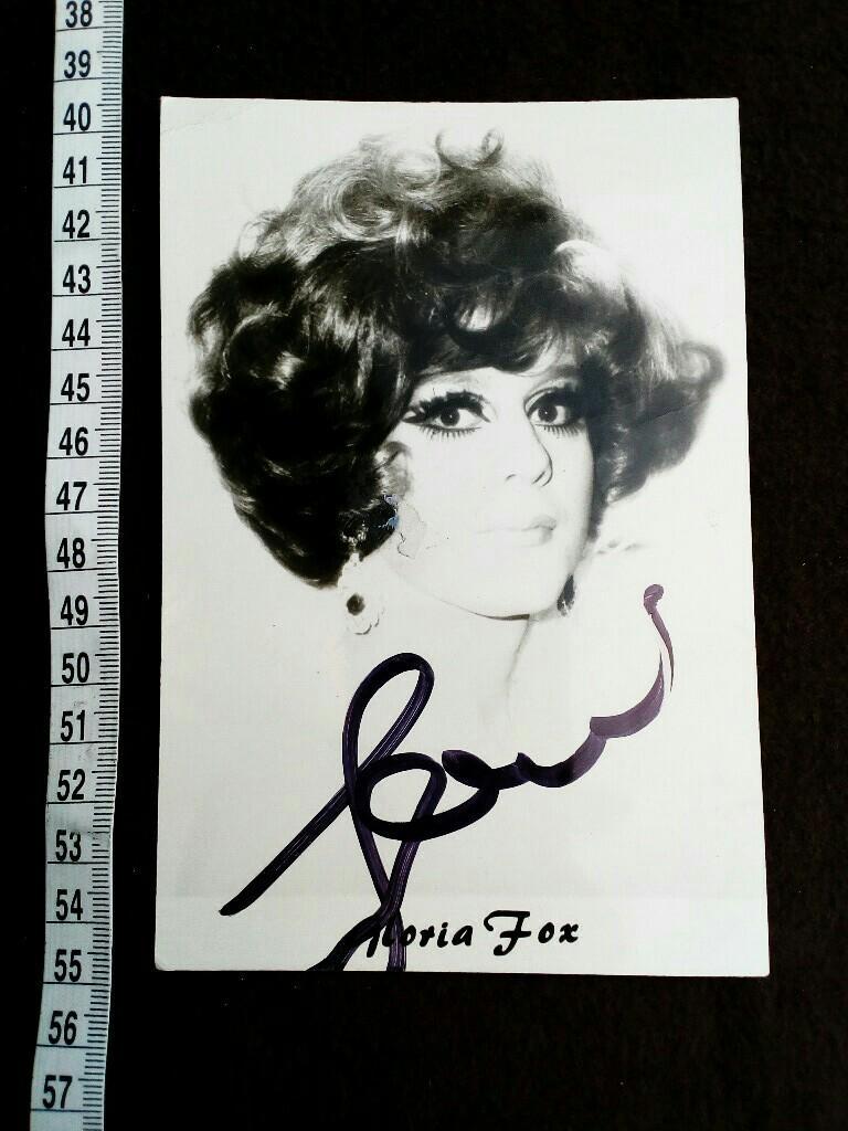 Amanda Lear Deutsch autogrammkarte mit eigenhändiger