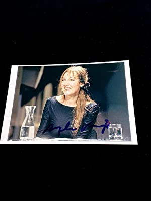 signiertes Foto. original hand signed picture. Famous german author and winner of the INGEBORG BA...
