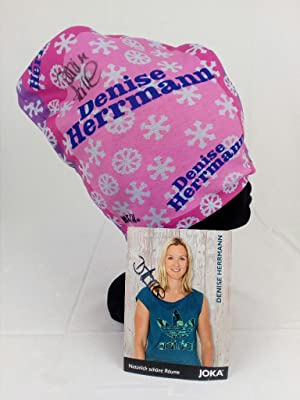 Handsignierter Winter Loop Schal + Autogrammkarte von Biathletin DENISE HERRMANN. Handsigned and ...