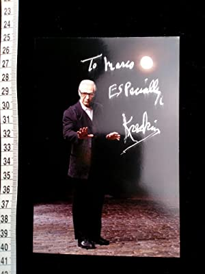Handsigniertes Original Foto. original hand signed photo of the famous american magician/ mentali...